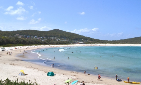 Fingal Beach at Port Stephens